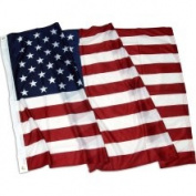 US Flag Store American Flag Superknit Polyester 0.91m x 1.52m with Grommets