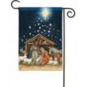 Magnet Works Holy Night Garden Flag - MAIL34012
