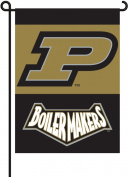 B S I Products 83033 Purdue 2-Sided Garden Flag Set with Pole