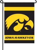 BSI PRODUCTS INC. Iowa Hawkeyes -2-Sided Garden Flag