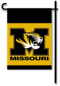 BSI Products NCAA 13 in. x 18 in. Missouri Tigers 2-Sided Garden Flag