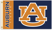 BSI Products 35145 Auburn Tigers- 3 ft. X 5 ft. Flag W-Grommets