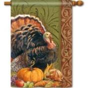 Magnet Works Thanksgiving Greeting Standard Flag