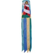 In The Breeze ITB4136 Lighthouse Boat Funsock with Quality Fade Resistant Polyester Fabric