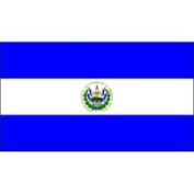 United States Flag Store El Salvador 0.61m x 0.91m Nylon Flag - Outdoor