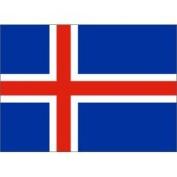 Eder Iceland 0.61m x 0.91m Nylon Flag - Outdoor