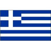 Eder Greece 0.61m x 0.91m Nylon Flag - Outdoor