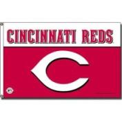 Rico Industries Fgb5402 Cincinnati Reds 3X5 Banner Flag