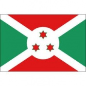 Eder Burundi 0.91m x 1.52m Nylon Flag - Outdoor