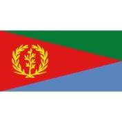 Eder Eritrea 0.91m x 1.52m Nylon Flag - Outdoor