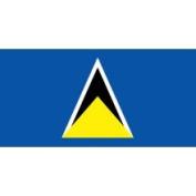 Eder St. Lucia 0.91m x 1.52m Nylon Flag - Outdoor
