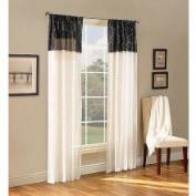 Belle Maison Melrose Reversible Sheer Curtain Panel