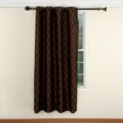 Hudson Embroidered Curtain Panel