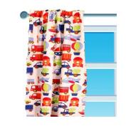 Bacati Transportation Curtain Panel