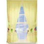 Littlest Pet Shop Curtains Set - Girls Animals Window Drapery Set