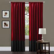 Lush Decor Milione Fiori Window Curtain