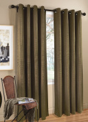 Commonwealth Home Fashions Livingston Grommet Top Curtain Panel in Multi Size