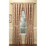 Home Fashions International Couture Blonde 213cm Curtain Panel Pair