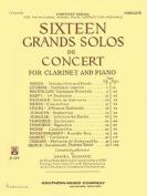 16 Grand Solos de Concert