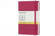 Moleskine Magenta Pocket Square Notebook Hard