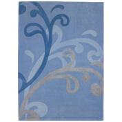 Dynamic Rugs Mystique 2214 7'25cm x 10'25cm Blue Area Rug