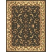 Loloi Rugs Stanley Chocolate/Beige Rug Rug Size