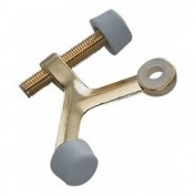 Mintcraft 20-B020 Bright Brass Hinge Pin Door Stop