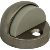 Stanley Hardware N325-621 / N325-324 National Satin Nickel Finish on Solid Brass Dome Floor Door Stop
