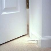 White Soft Jamb Door Stops - Pkg of 3
