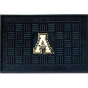 Fanmats 12438 COL - 19 in. x30 in. - Appalachian State Medallion Door Mat