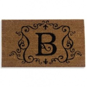 Evergreen Enterprises 2RM002 Monogram Coir Doormat Insert - B