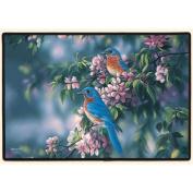 Fiddler's Elbow FED993 Bluebirds Doormat 27x18x.64cm