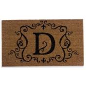 Evergreen Enterprises 2RM004 Monogram Coir Doormat Insert - D