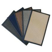 Rubber-Cal Nottingham Charcoal Carpet Door Mat
