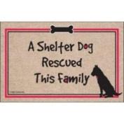 High Cotton Inc M125 A Shelter Dog Doormat
