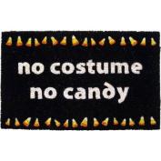 Entryways P977 No Candy Coir Nonslip Doormat, 43cm x 71cm