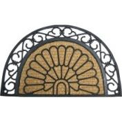 Rubber-Cal 'Tivoli Garden' Rubber Door Mat (46cm x 76cm )