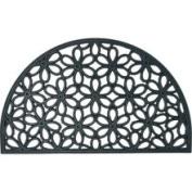 Rubber-Cal 'Spring Bouquet' Rubber Cast Iron Door Mat