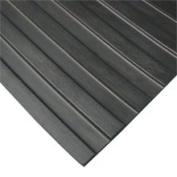 Rubber-Cal Wide Rib Corrugated Rubber Floor Mat
