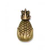 Michael Healy Designs MHS11 Polished and highlighted Brass Pineapple Best Seller Door Knocker