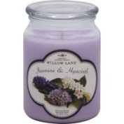 Willow Lane Candle, Premium, Jasmine & Hyacinth Scented - 270ml
