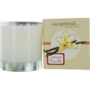 Exceptional-For Your Home by Exceptional Parfums Sensual Vanilla Scented 240ml Tapered Glass Jar Candle.