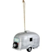 Red Carpet Studios 40989 Retro Silver Camper Birdhouse