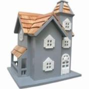 Home Bazaar Little Manor Birdhouse - Blue