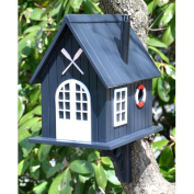 Home Bazaar KSHB-004S Classic Series Boat House Bird House