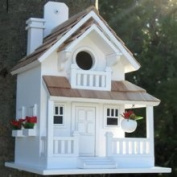 Home Bazaar HB-9045 Birds of A Feather Backyard Cottage Bird House