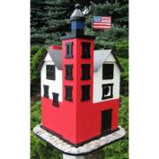 Home Bazaar HB-9069 Historic Annapolis Lighthouse Birdhouse - Default