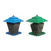 Hiatt Manufacturing 50120 Square Bird Feeder, Assorted Colour