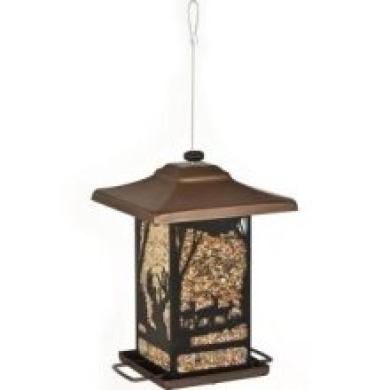 Woodstream 8504-2 Buck and Doe Lantern Wil Bird Feeder