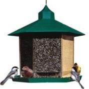 Woodstream Wildbird - Triple Treat Feeder- Green 6lb Capacity - HF91
